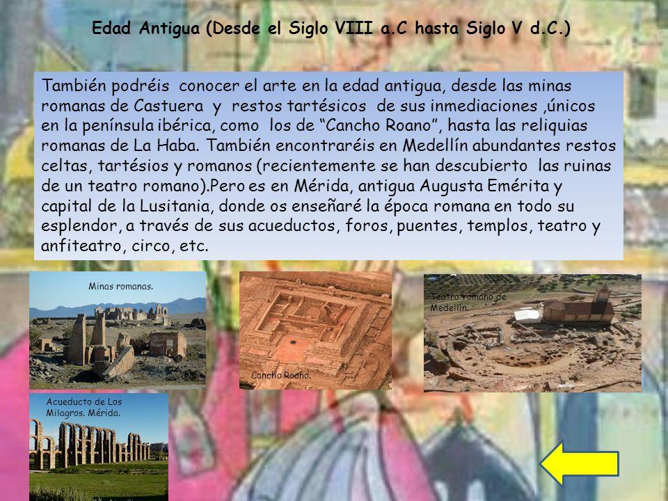 Edad Antigua (Desde el Siglo VIII a.C hasta Siglo V d.C.)