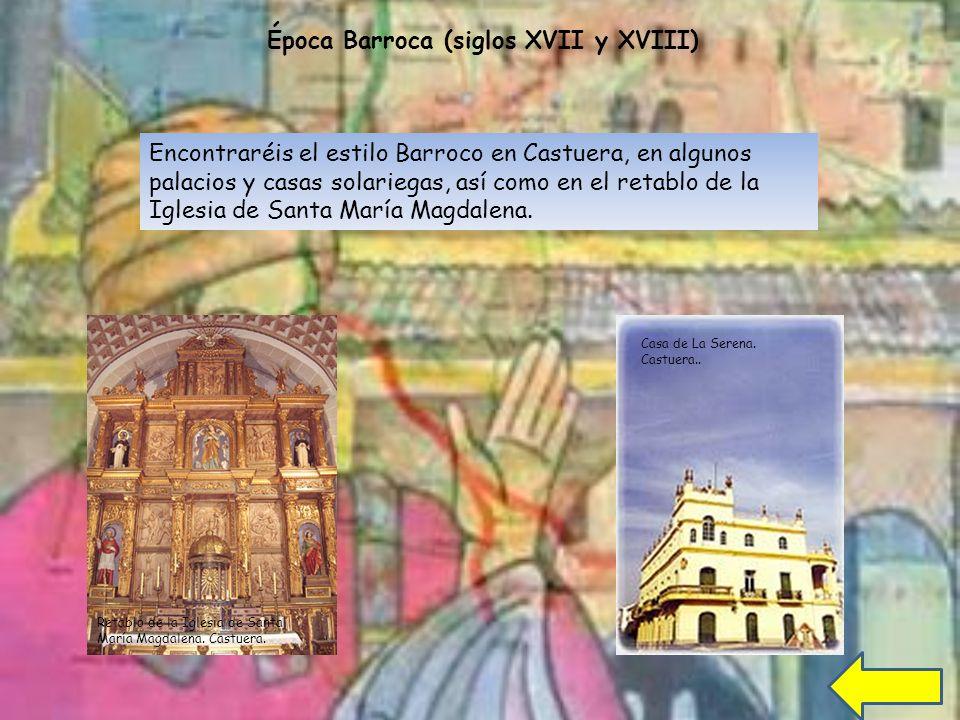 Época Barroca (siglos XVII y XVIII)