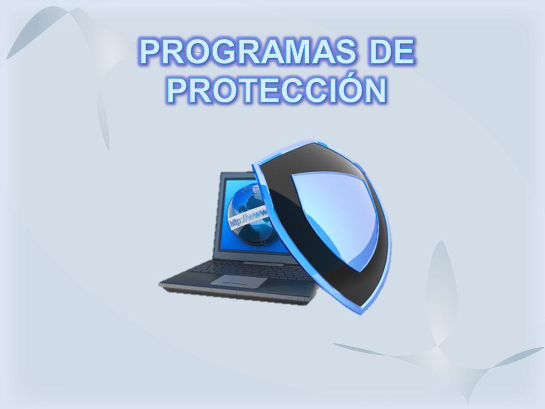 PROGRAMAS DE PROTECCIÓN