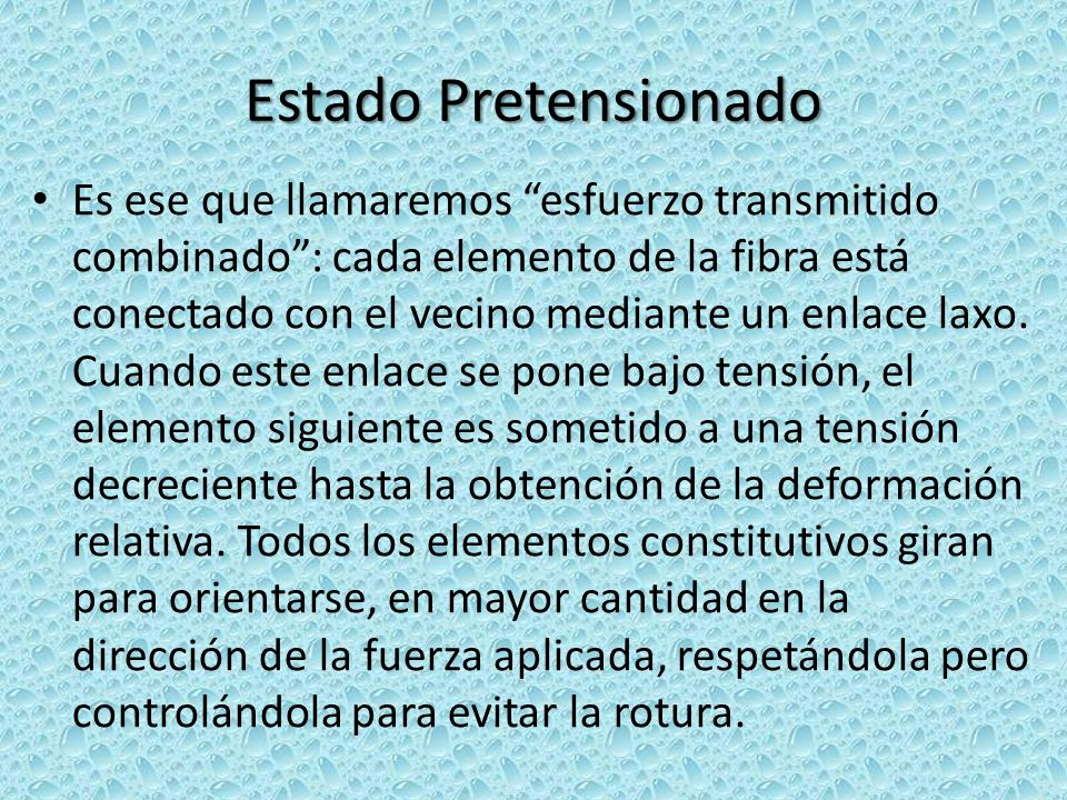 Estado Pretensionado