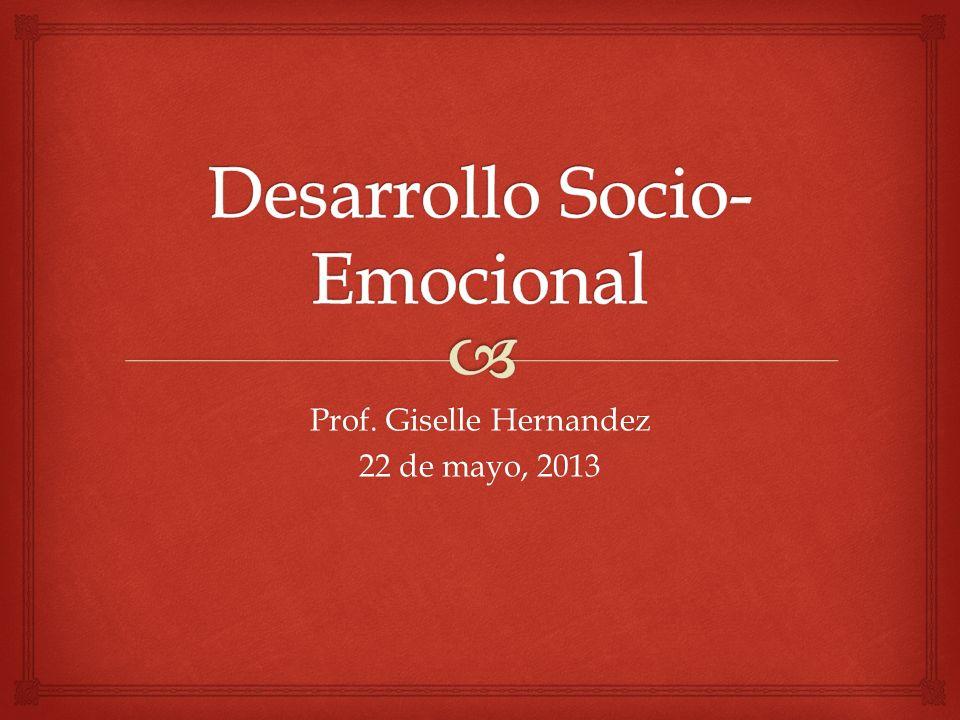 Desarrollo Socio-Emocional