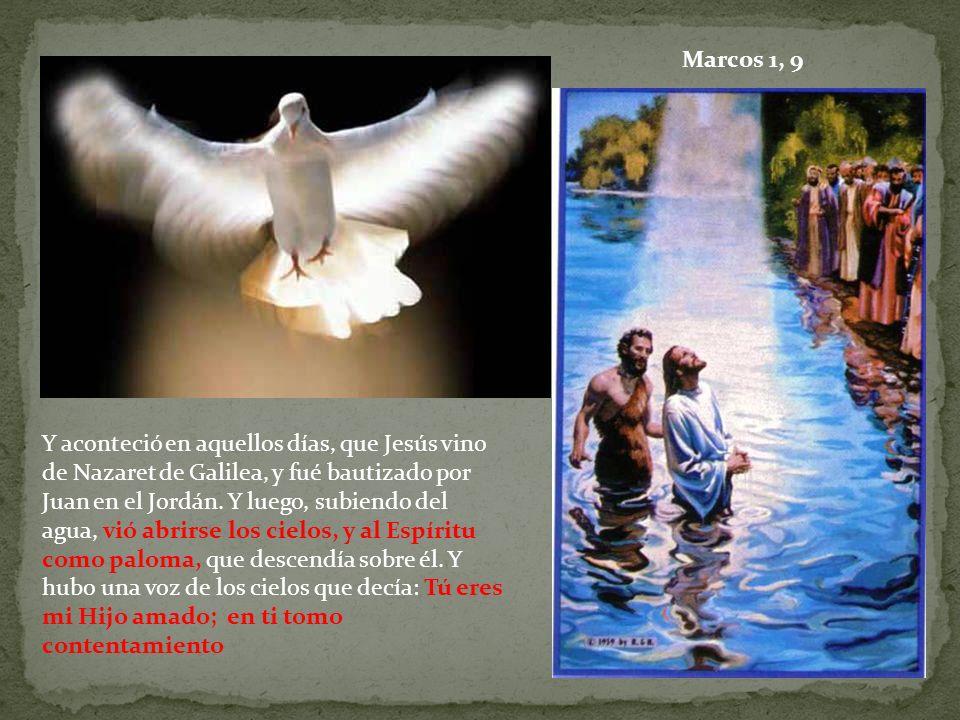 Marcos 1, 9