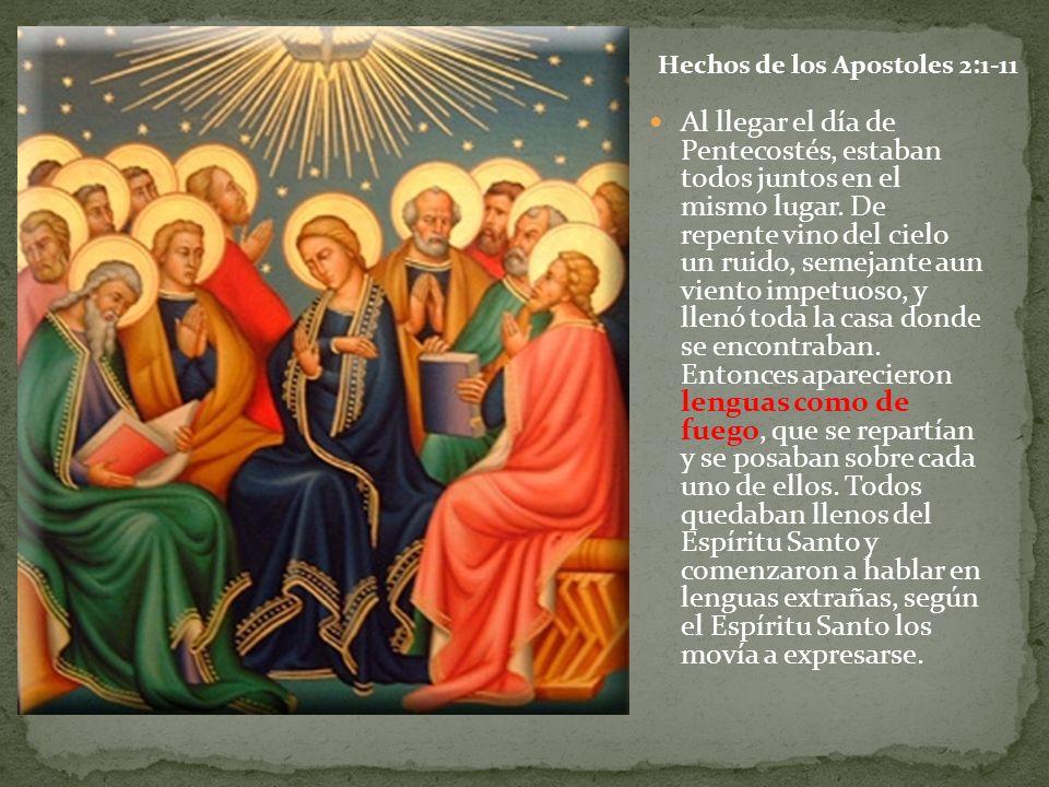 Hechos de los Apostoles 2:1-11