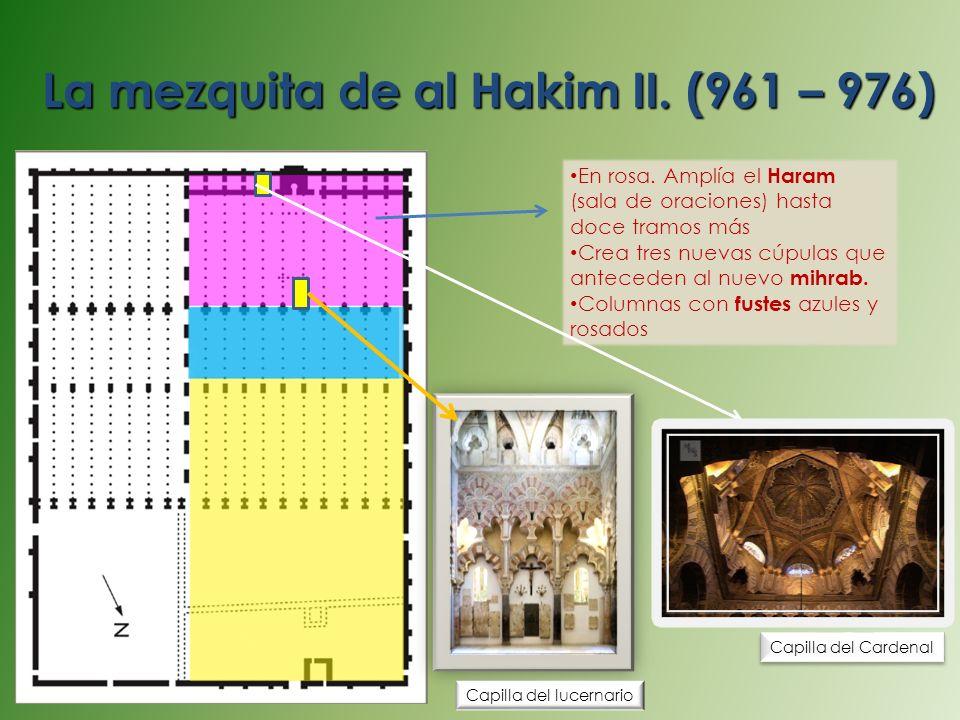 La mezquita de al Hakim II. (961 – 976)