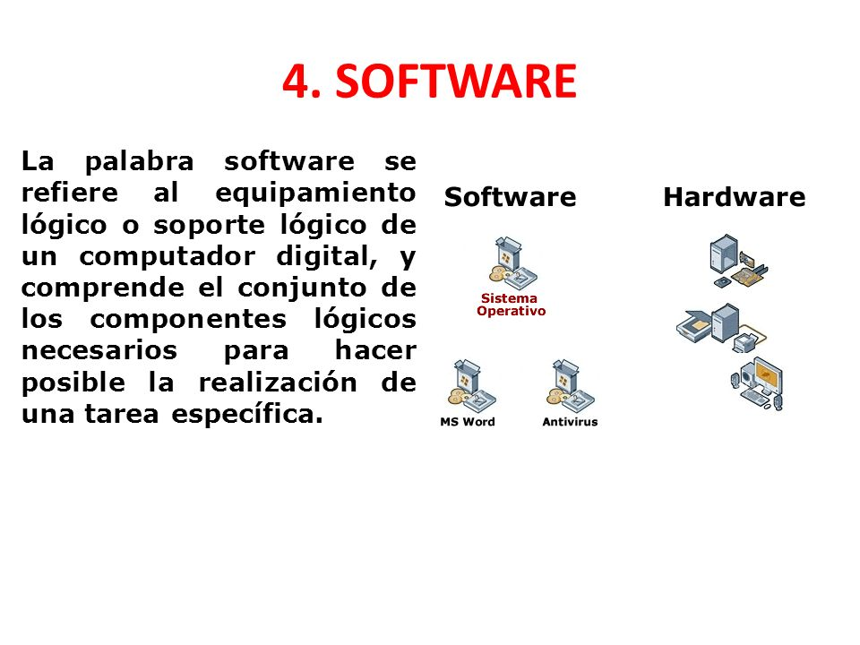 4. SOFTWARE