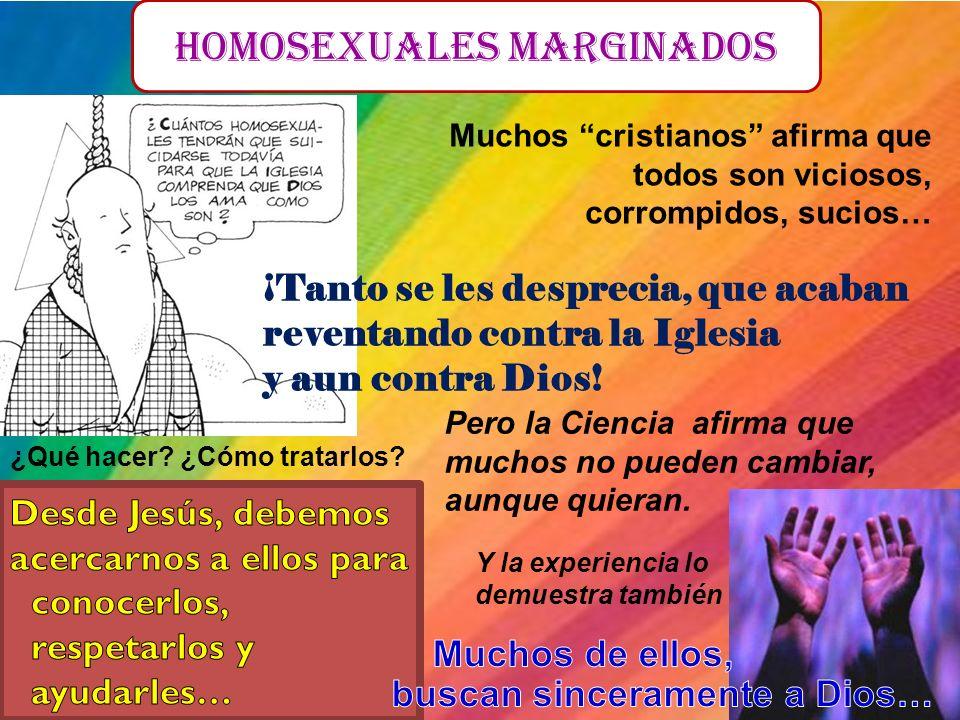 HOMOSEXUALES marginados