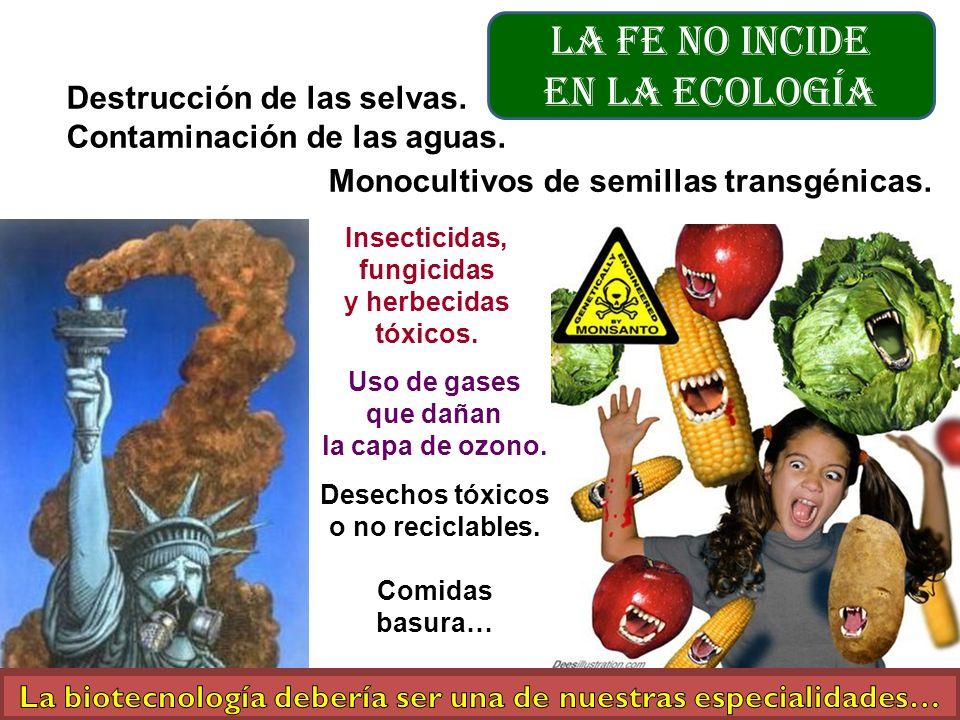 La biotecnología debería ser una de nuestras especialidades…