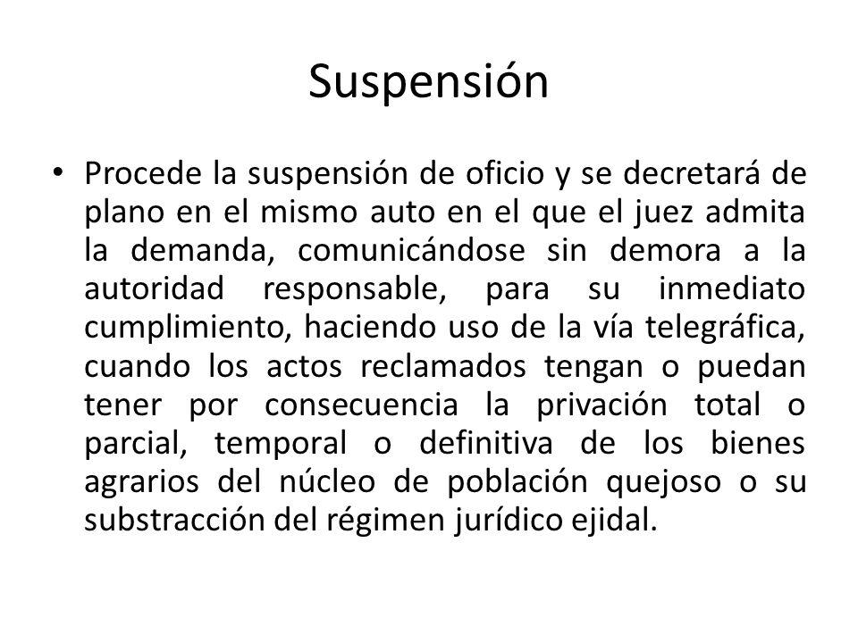 Suspensión