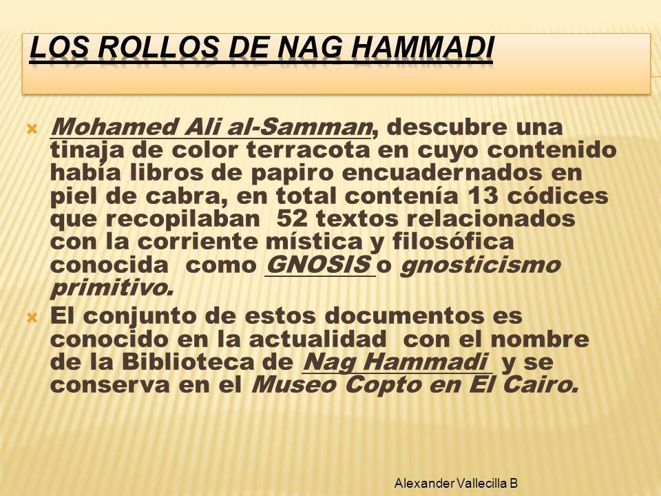 LOS ROLLOS DE NAG HAMMADI