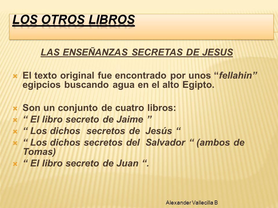 LAS ENSEÑANZAS SECRETAS DE JESUS