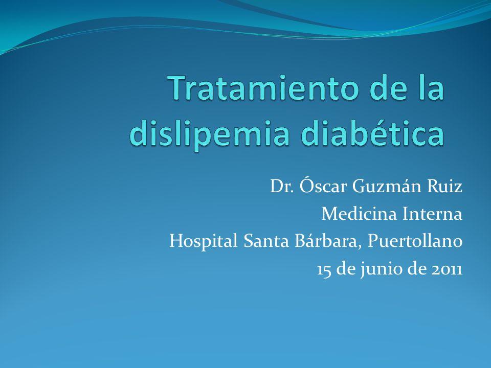 Tratamiento de la dislipemia diabética