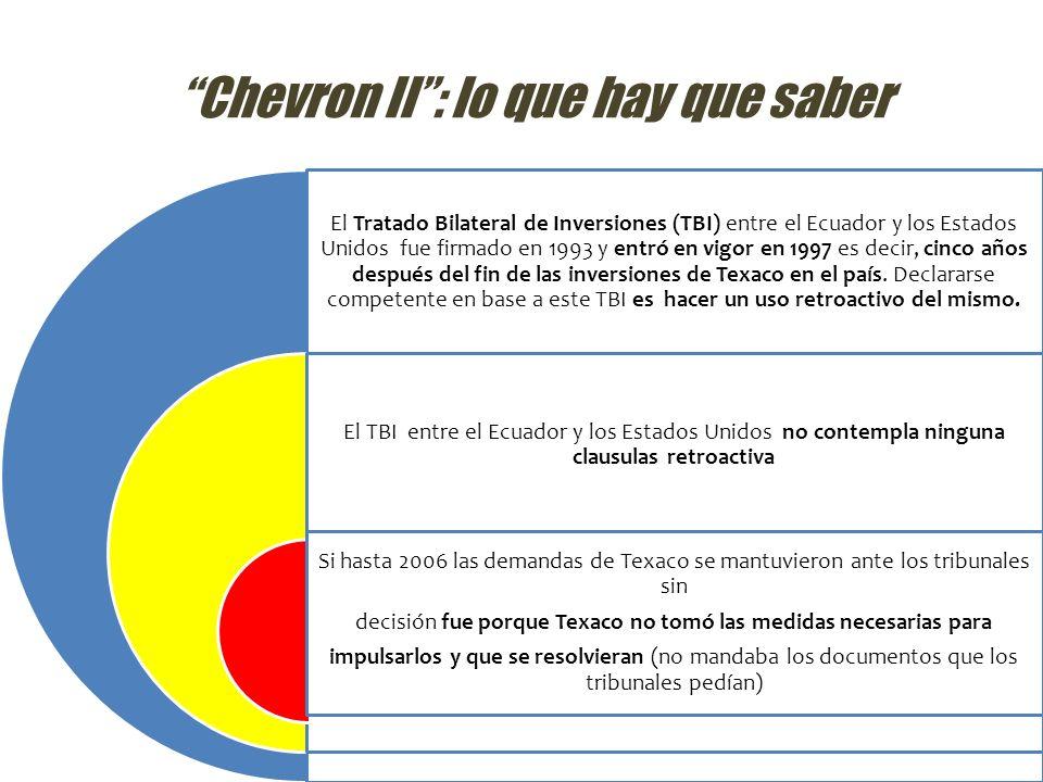 Chevron II : lo que hay que saber
