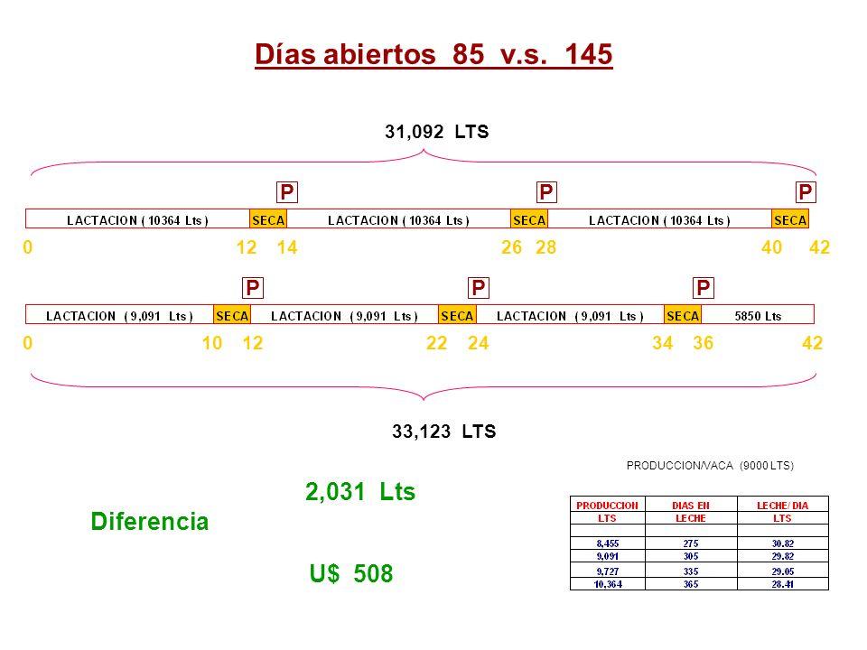 PRODUCCION/VACA (9000 LTS)
