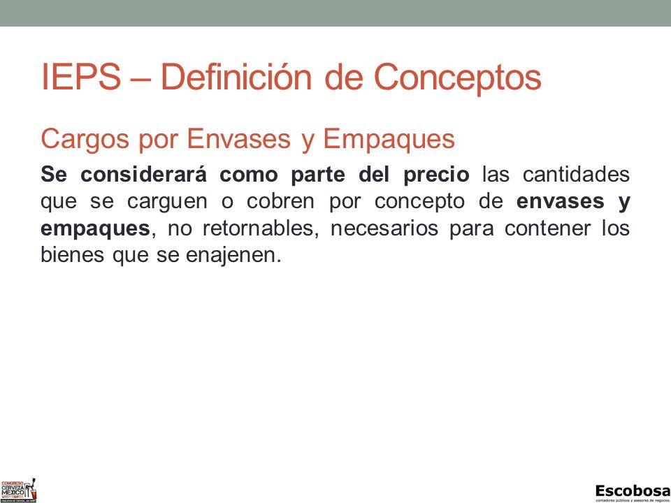 IEPS – Definición de Conceptos