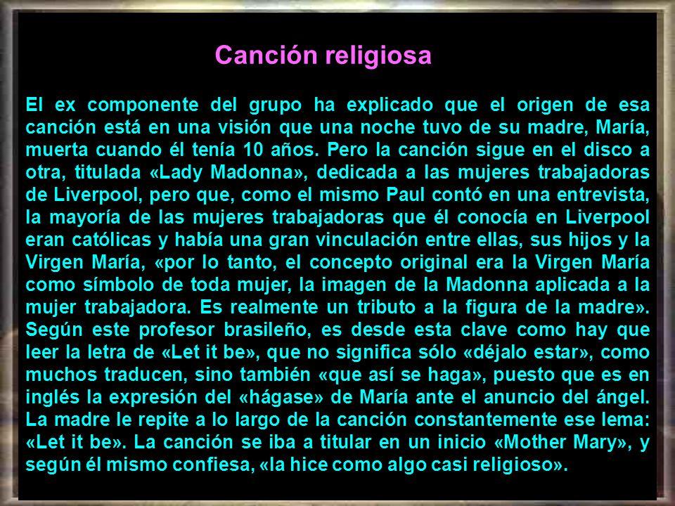 Canción religiosa