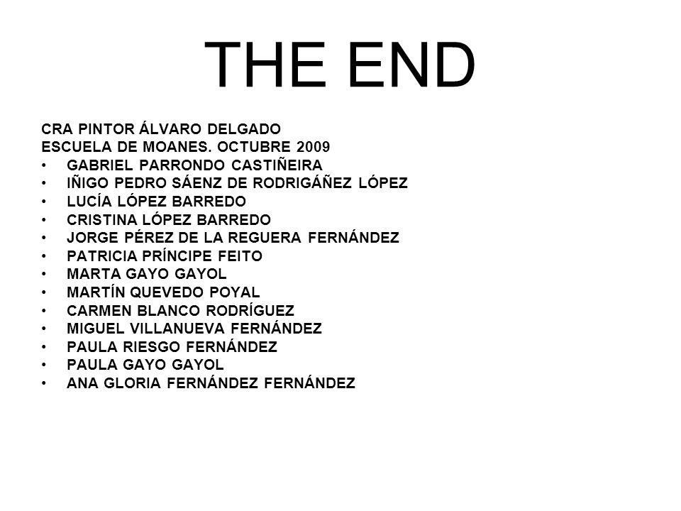 THE END CRA PINTOR ÁLVARO DELGADO ESCUELA DE MOANES. OCTUBRE 2009
