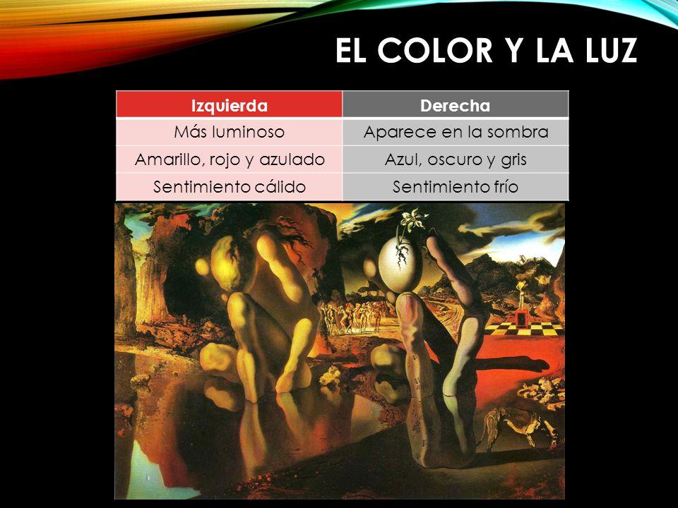 Amarillo, rojo y azulado