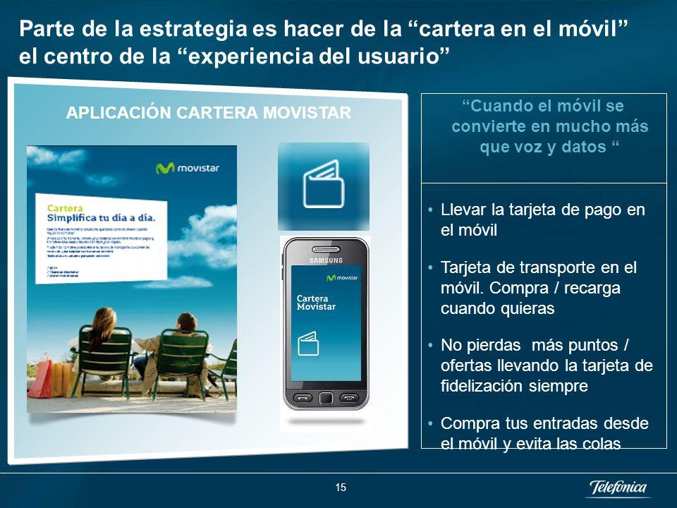 1 … Telefónica ha puesto en marcha una Joint Venture con MasterCard para generar un ecosistema abierto.