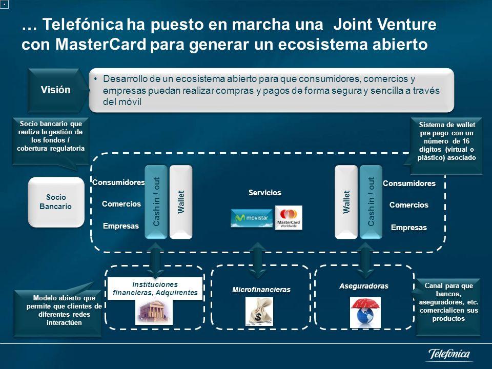 Telefónica apuesta por el desarrollo de la tecnología, estándares y servicios NFC y despliega iniciativas comerciales en todo el mundo