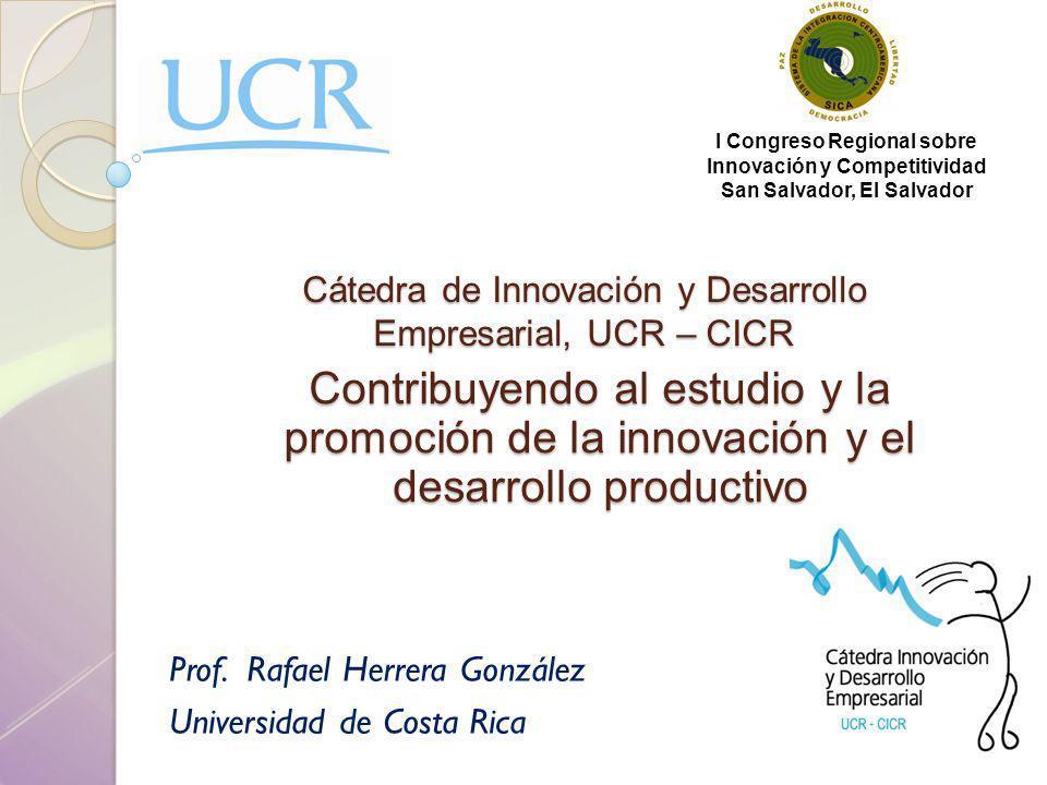 Cátedra de Innovación y Desarrollo Empresarial, UCR – CICR