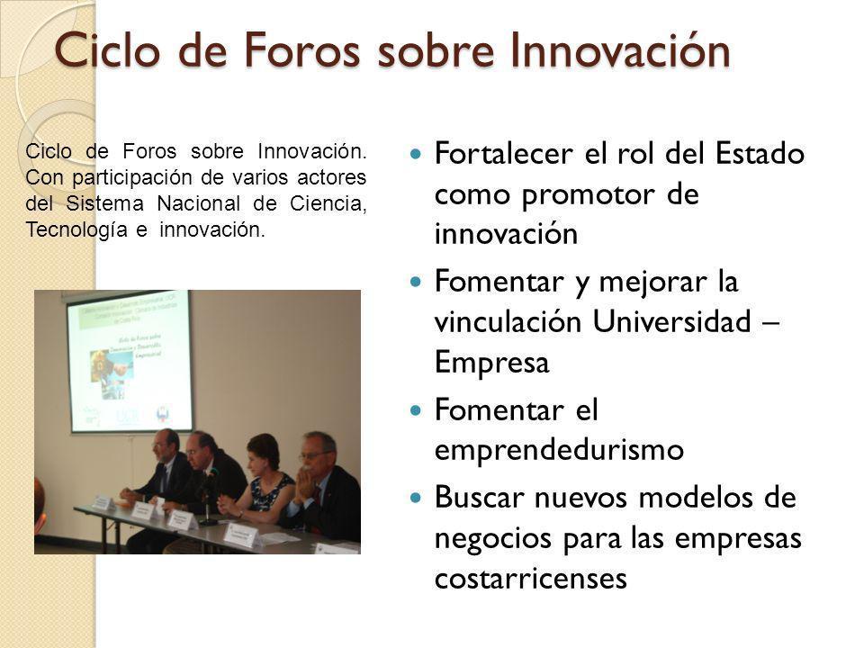 Ciclo de Foros sobre Innovación