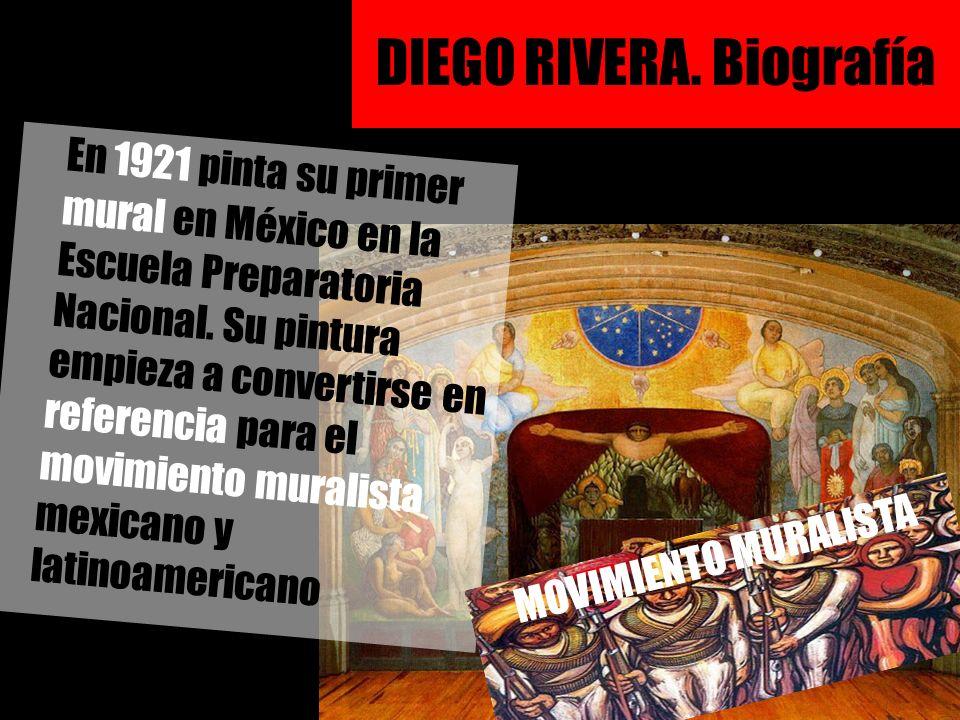 DIEGO RIVERA. Biografía