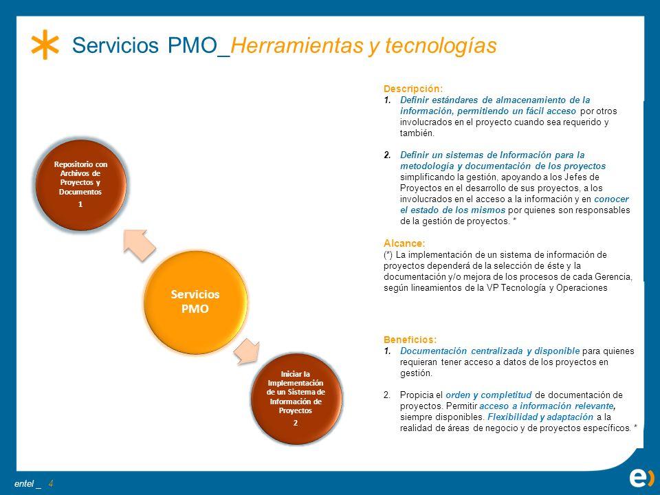 Servicios PMO_Herramientas y tecnologías