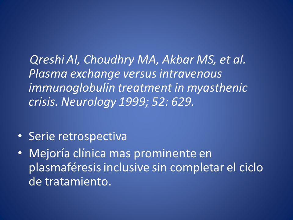 Qreshi AI, Choudhry MA, Akbar MS, et al