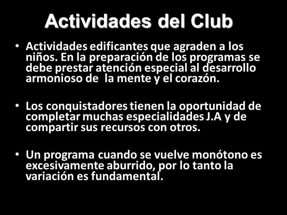 Actividades del Club