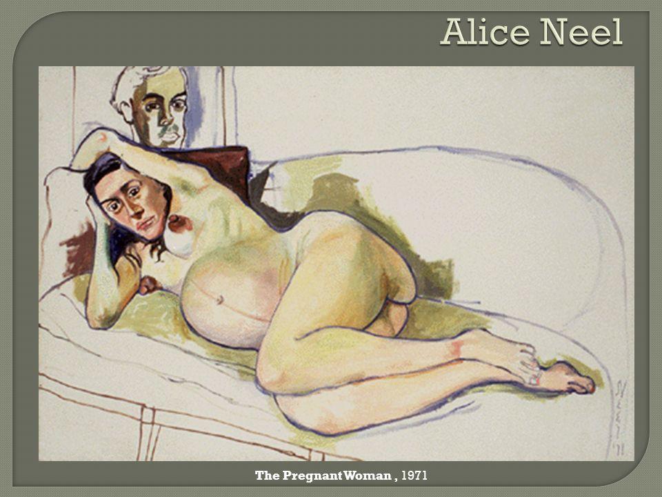 Alice Neel The Pregnant Woman , 1971