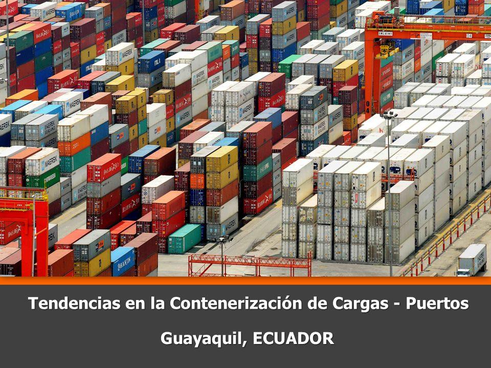Tendencias en la Contenerización de Cargas - Puertos