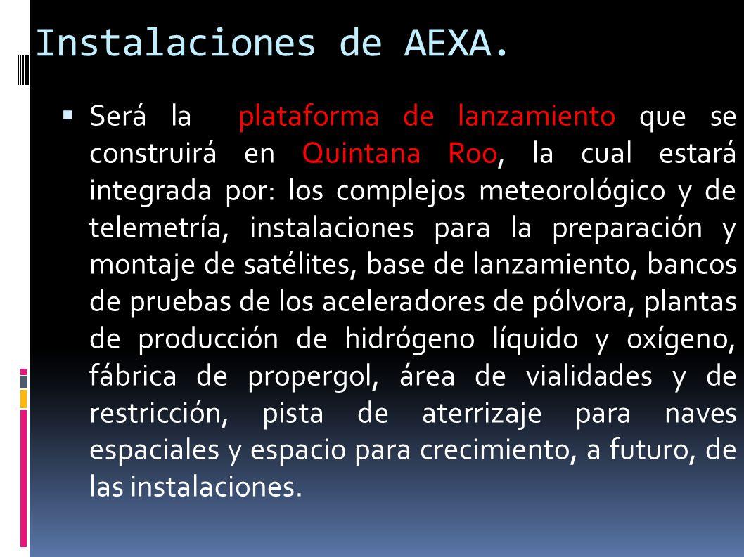 Instalaciones de AEXA.