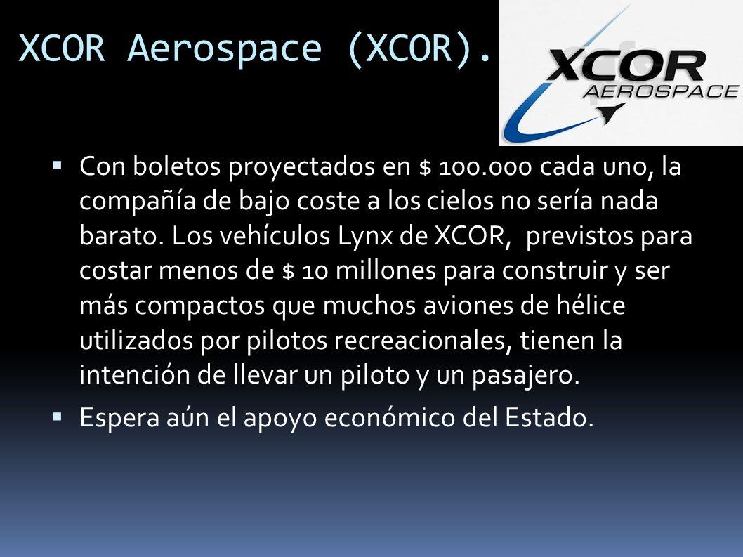 XCOR Aerospace (XCOR).