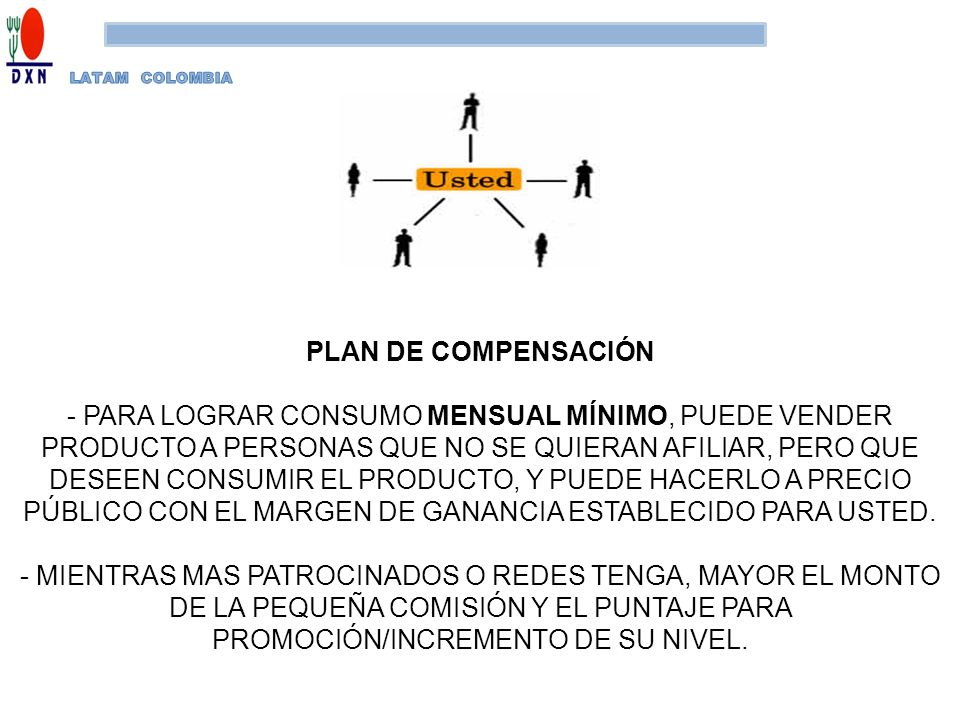 LATAM COLOMBIA PLAN DE COMPENSACIÓN.