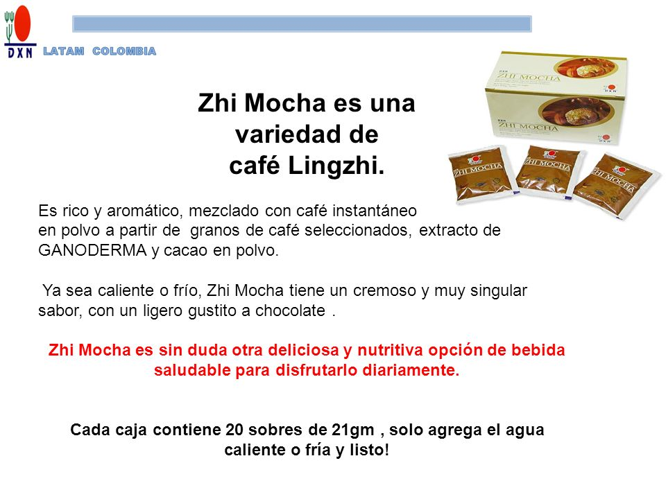 Zhi Mocha es una variedad de café Lingzhi.