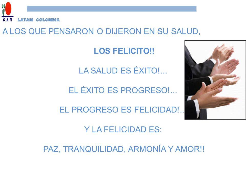 A LOS QUE PENSARON O DIJERON EN SU SALUD, LOS FELICITO!!