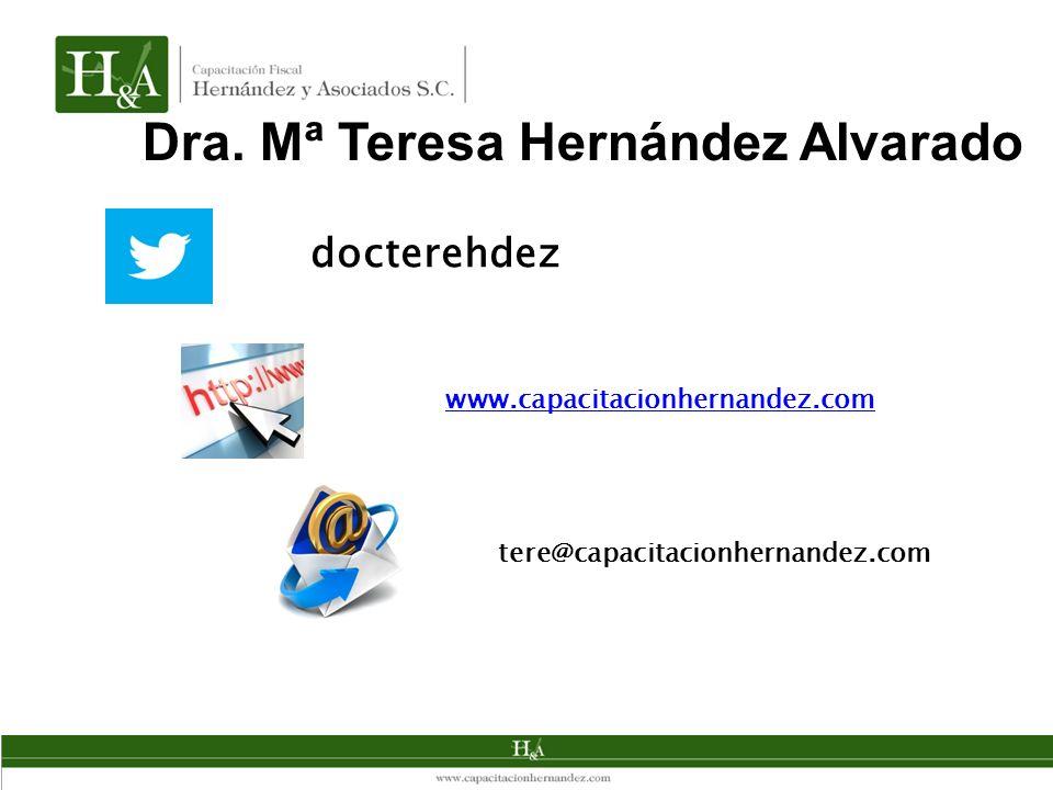 Dra. Mª Teresa Hernández Alvarado