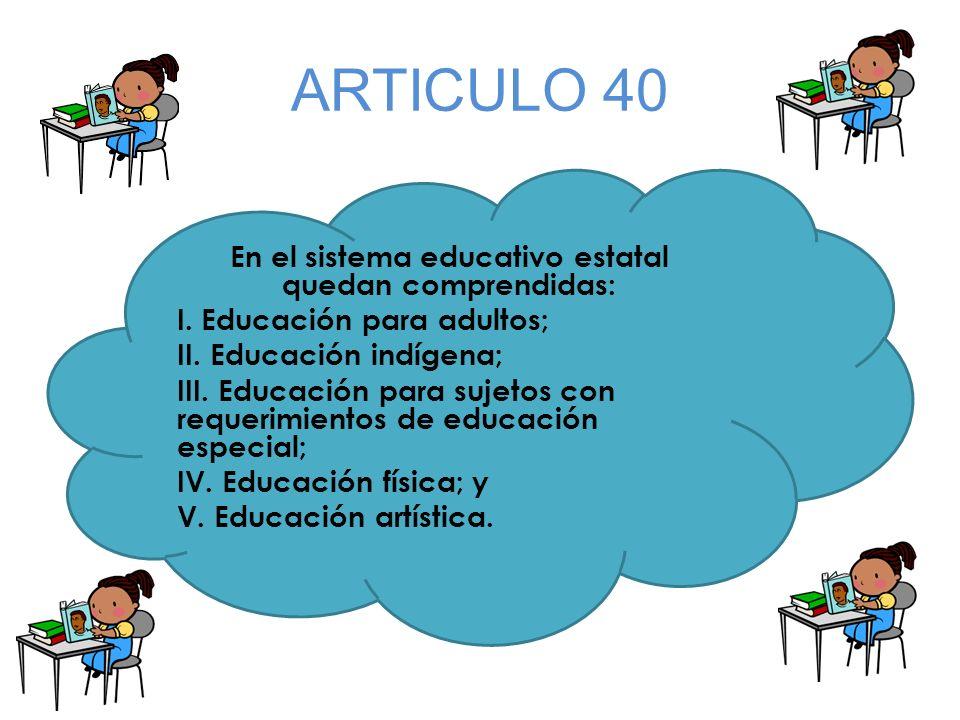 ARTICULO 40