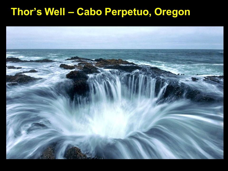 Thor's Well – Cabo Perpetuo, Oregon