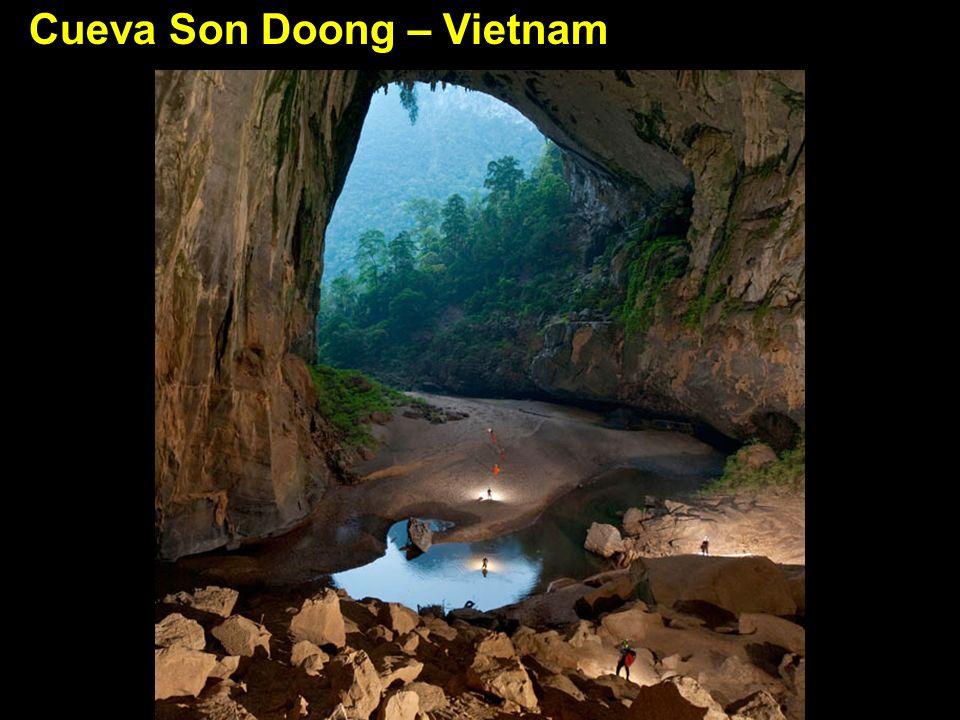 Cueva Son Doong – Vietnam