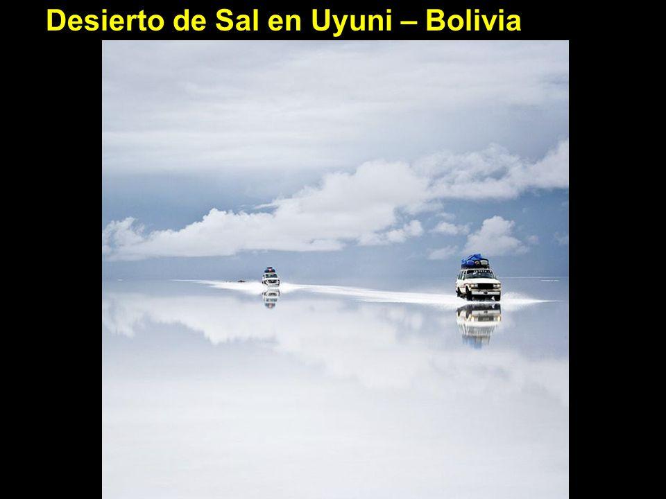 Desierto de Sal en Uyuni – Bolivia