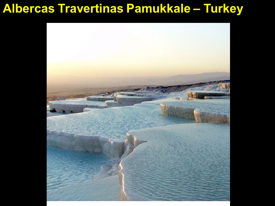 Albercas Travertinas Pamukkale – Turkey