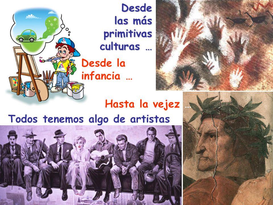 Desde las más. primitivas. culturas … Desde la.
