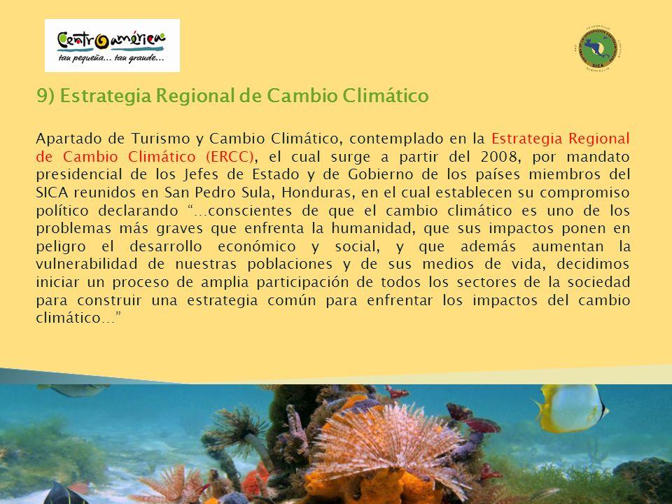 9) Estrategia Regional de Cambio Climático