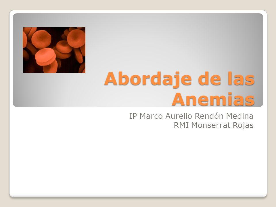 Abordaje de las Anemias