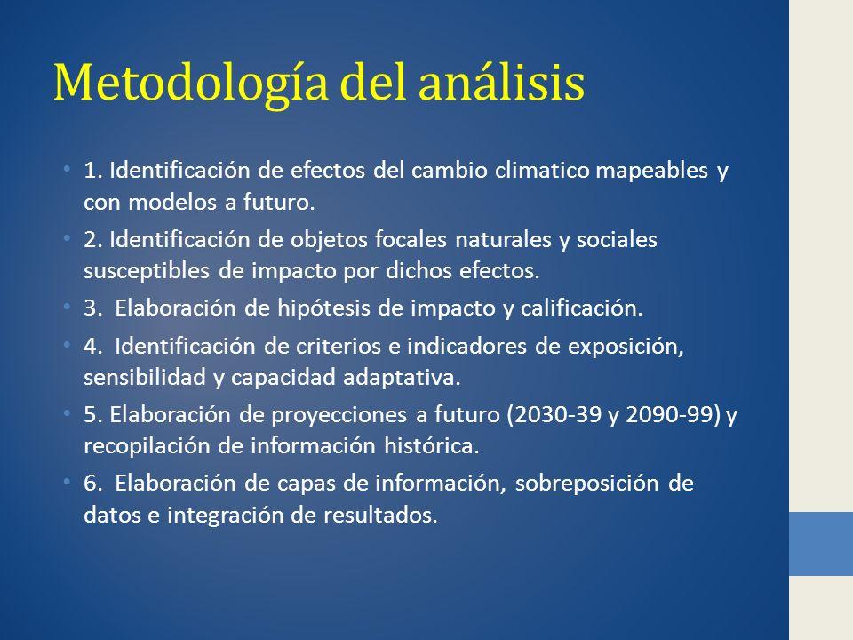 Metodología del análisis
