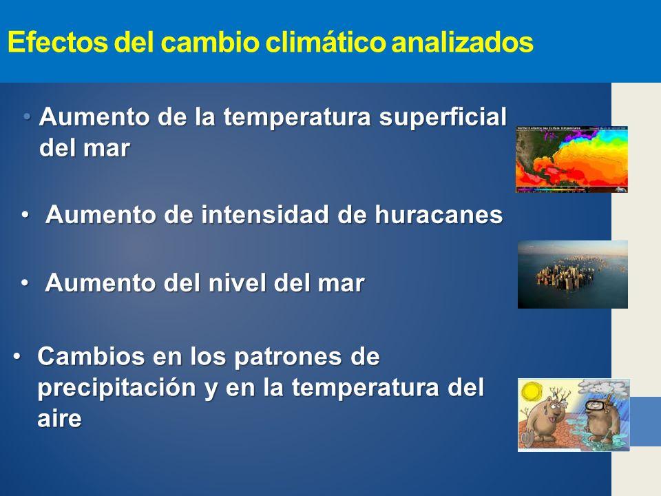 Efectos del cambio climático analizados