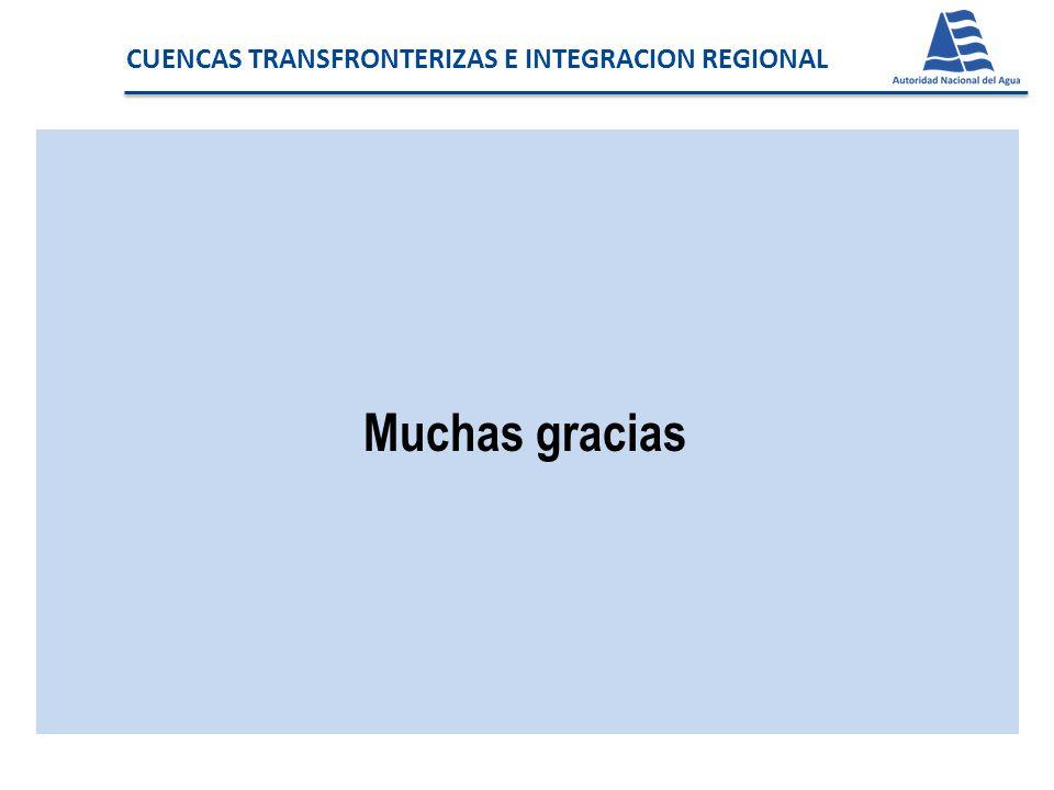 CUENCAS TRANSFRONTERIZAS E INTEGRACION REGIONAL