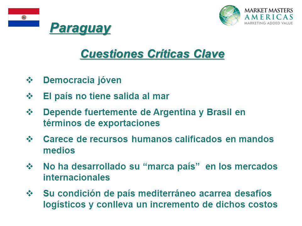 Cuestiones Críticas Clave