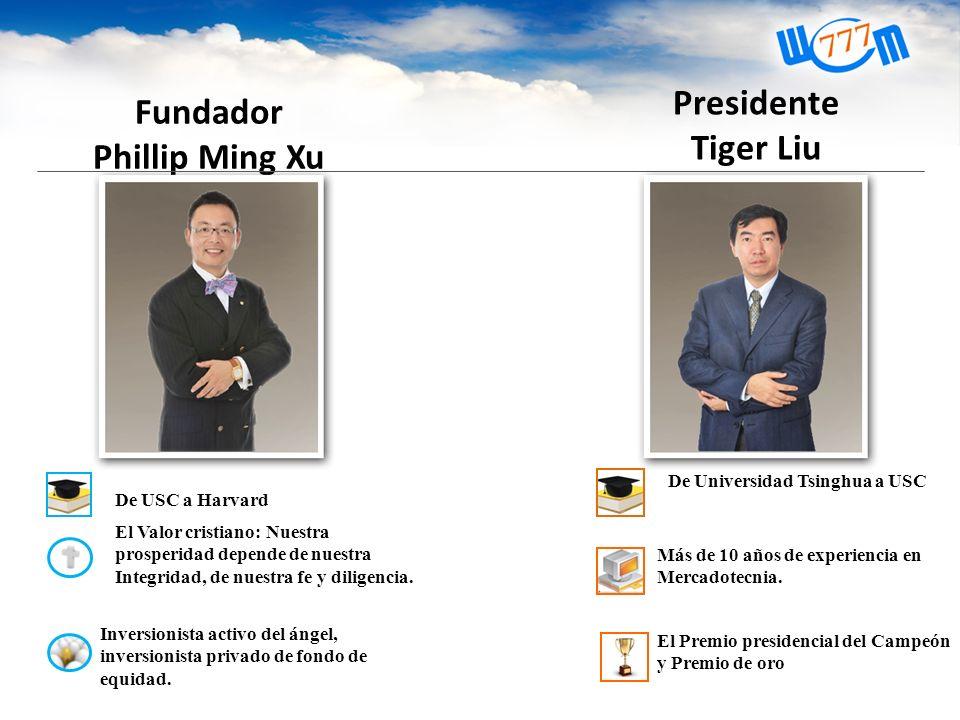 Fundador Phillip Ming Xu